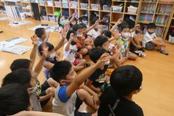 7月27日 絵画教室はじまりました。